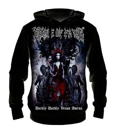 CRADLE OF FILTH - Darkly Venus - Casaco de Moletom Rock Metal