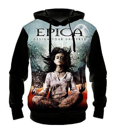 EPICA - Design Your Universe - Casaco de Moletom Rock Metal