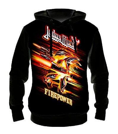 JUDAS PRIEST - Fire Power - Casaco de Moletom Rock Metal