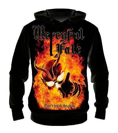 MERCYFUL FATE -  Dont Break the Oath - Casaco de Moletom Rock Metal
