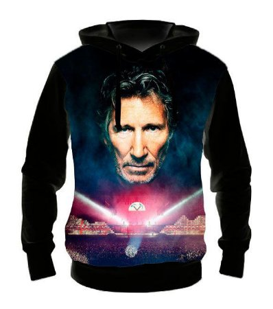 PINK FLOYD - Roger Waters - Casaco de Moletom Rock Metal