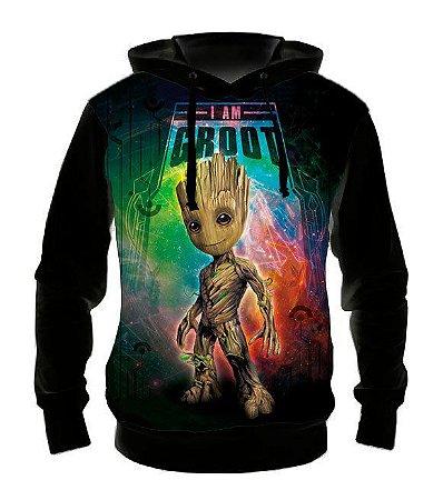 MARVEL - Guardiões da Galaxia Baby Groot - Casaco de Moletom Cinema