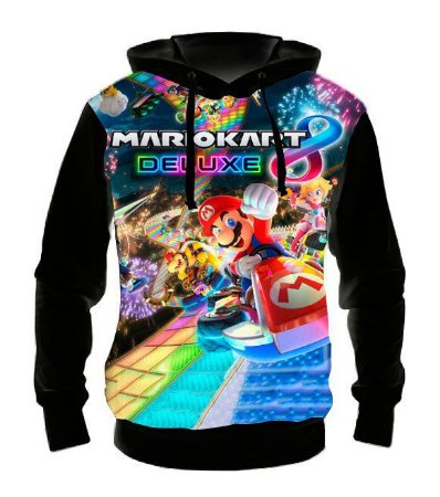 NINTENDO - Super Mario Kart Deluxe - Casaco de moletom Games