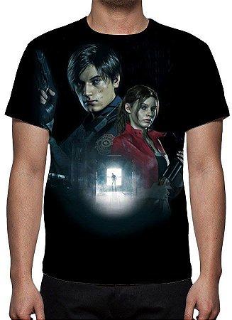 RESIDENT EVIL 2 - Remake - Camiseta Games