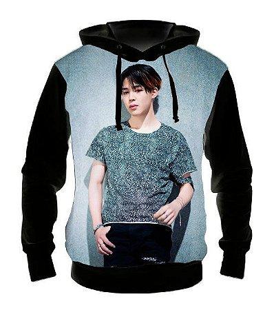 BTS BANGTAN BOYS - Jimin Modelo 2- Casaco de Moletom KPOP