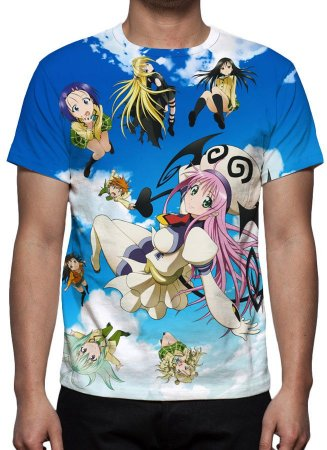 TO LOVE RU - Camisetas de Animes