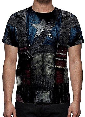 UNIFORMES - Capitão América Modelo 2 - Camisetas Variadas