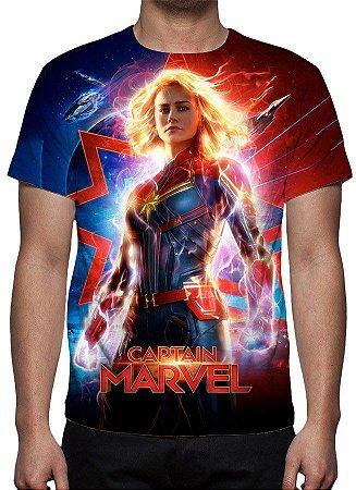 MARVEL - Capitã Marvel Modelo 1 - Camiseta de Cinema