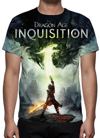 DRAGON AGE - inquisition - Camiseta de Games