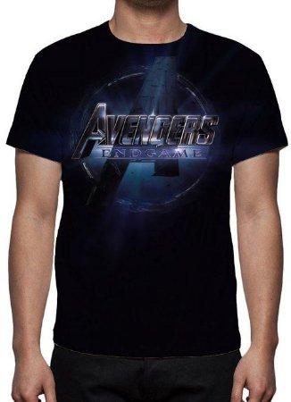 MARVEL - Vingadores - Ultimato Logo - Camiseta de Cinema
