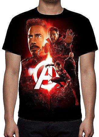 MARVEL - Vingadores Guerra Infinita - Joias Modelo 1 - Camiseta de Cinema