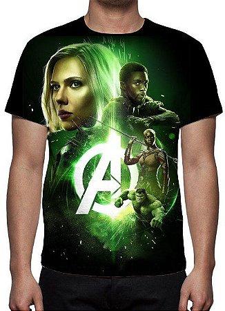 MARVEL - Vingadores Guerra Infinita - Joias Modelo 4 - Camiseta de Cinema