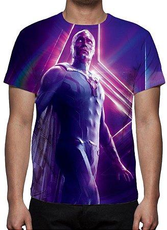MARVEL - Vingadores Ultimato - Visão - Camiseta de Cinema
