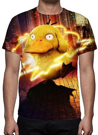 POKEMON - Detetive Pikachu - Psyduck - Camiseta de Cinema