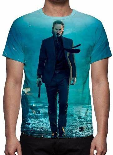 John Wick 2 - Camiseta de Cinema Diversos