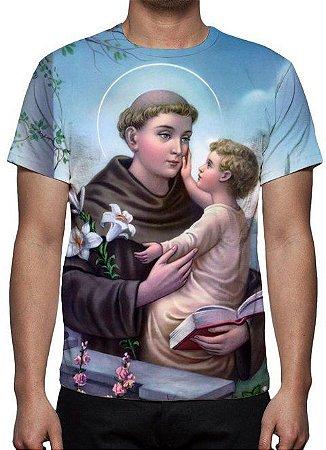 RELIGIOSOS - Santo Antônio de Pádua - Camiseta Variada