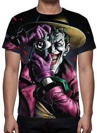 Dc Comics Coringa Piada Mortal Camiseta De Desenhos Kanikoss