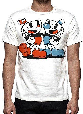 CUPHEAD - Modelo 3 - Camiseta de Games