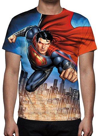 DC COMICS - Supeman Modelo 2 - Camiseta de Desenhos