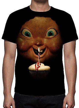 MORTE TE DÁ PARABÉNS, A - Camiseta de Cinema