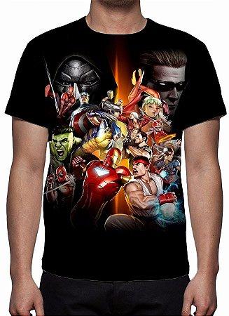 MARVEL vs CAPCOM - Camiseta de Games