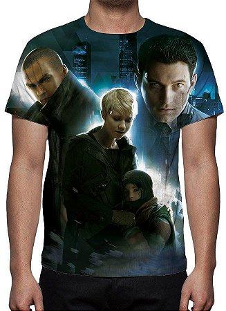 DETROIT BECOME HUMAN - Camiseta de Games