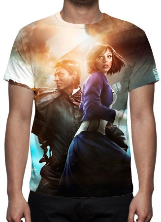BIOSHOCK - Infinite  - Camiseta de Games