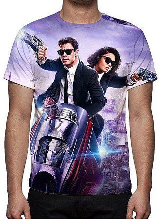MIB HOMENS DE PRETO - Internacional Modelo 2 - Camiseta de Cinema