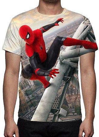 MARVEL - Homem Aranha Longe de Casa - Camiseta de Cinema