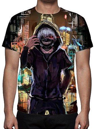 TOKYO GHOUL - Ken Kaneki Ruas - Camiseta de Animes