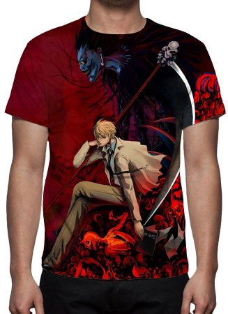 DEATH NOTE - Modelo 5 - Camiseta de Animes