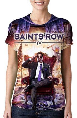 SAINTS ROW IV - Camiseta de Games