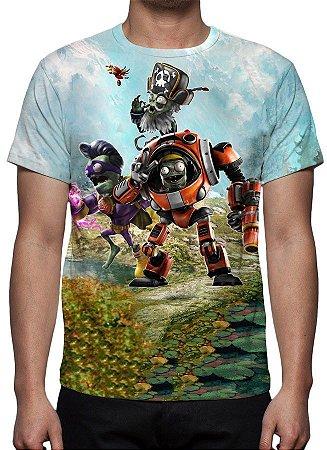 PLANTS VS ZOMBIES - Garden Warfare 2 Modelo 1 - Camiseta de Games