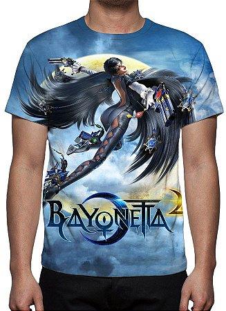 BAYONETTA  2 - Modelo 1 - Camiseta de Games