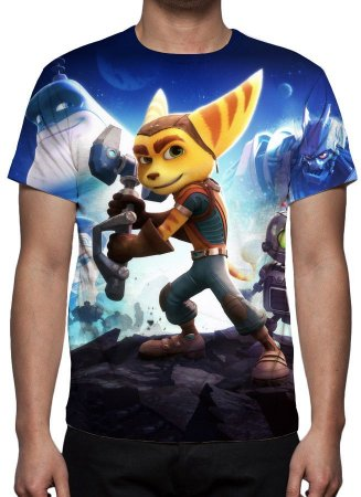 RATCHET &  CLANK - Camiseta de Games