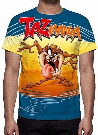 TAZ MANIA - Camiseta de Desenhos