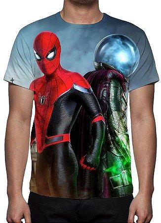 MARVEL - Homem Aranha Longe de Casa Mystério - Camiseta de Cinema