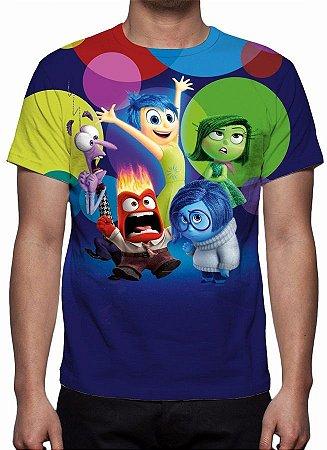 DIVERTIDA MENTE - Modelo 1 -  Camiseta de Animações