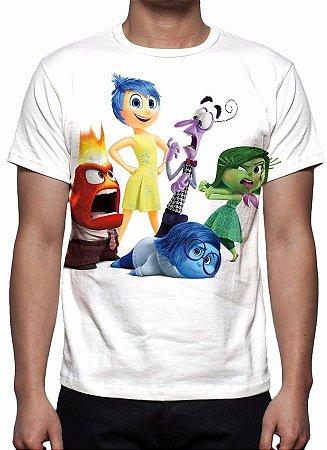DIVERTIDA MENTE - Modelo 2 - Camiseta de Animações
