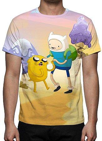 HORA DE AVENTURA - Finn & Jake - Camiseta de Desenhos