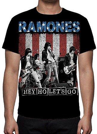 RAMONES - Hey Ho lets Go - Camiseta de Rock