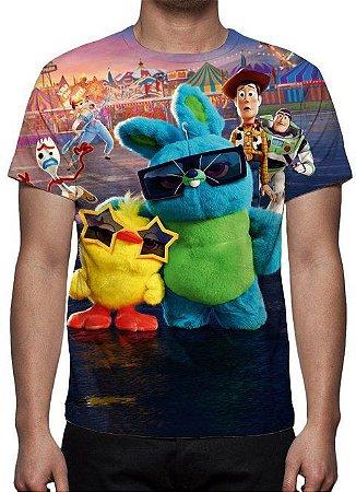 TOY STORY 4 - Modelo 1 - Camiseta de Animações