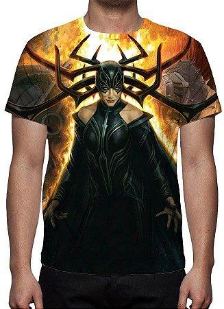 MARVEL - Thor Ragnarok Hela - Camiseta de Cinema