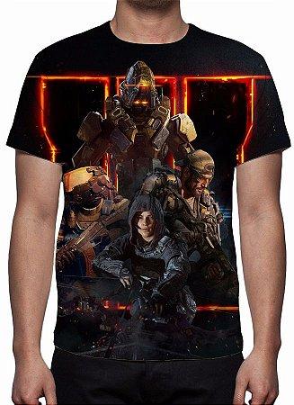 CALL OF DUTY - Black Ops 3 Especialistas - Camiseta de Games