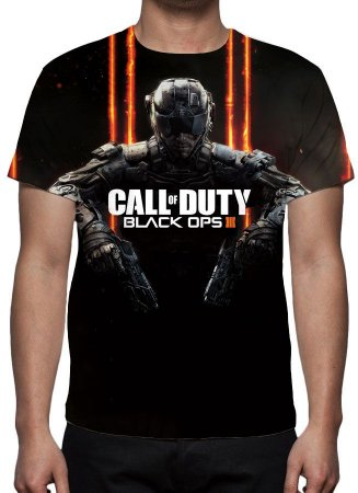 CALL OF DUTY - Black Ops 3 - Camiseta de Games