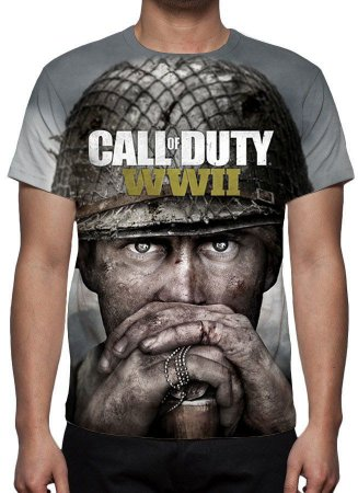 CALL OF DUTY - World At War 2 - Camiseta de Games