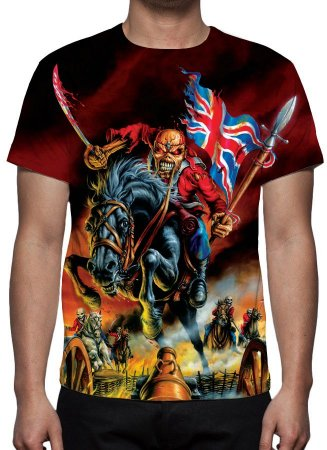 IRON MAIDEN - Modelo 2 - Camiseta de Rock