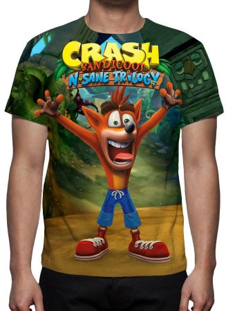 CRASH BANDICOOT - Crash N Sane Trilogy Modelo 2 - Camisetas de Games