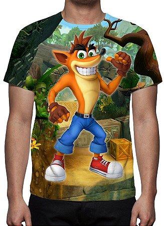 CRASH BANDICOOT - Camisetas de Games