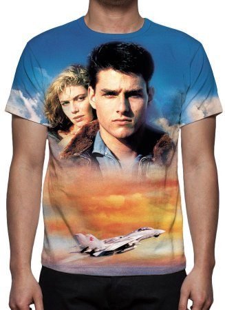 TOP GUN - Ases Indomáveis - Camiseta de Cinema